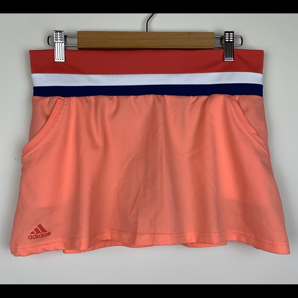 adidas Pants - Adidas Climalite Coral Tennis Skort